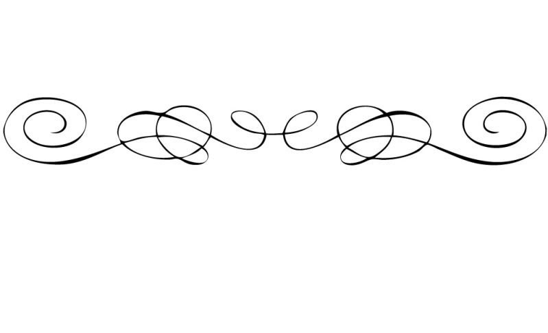 Collection of free Curving clipart fancy line accent.