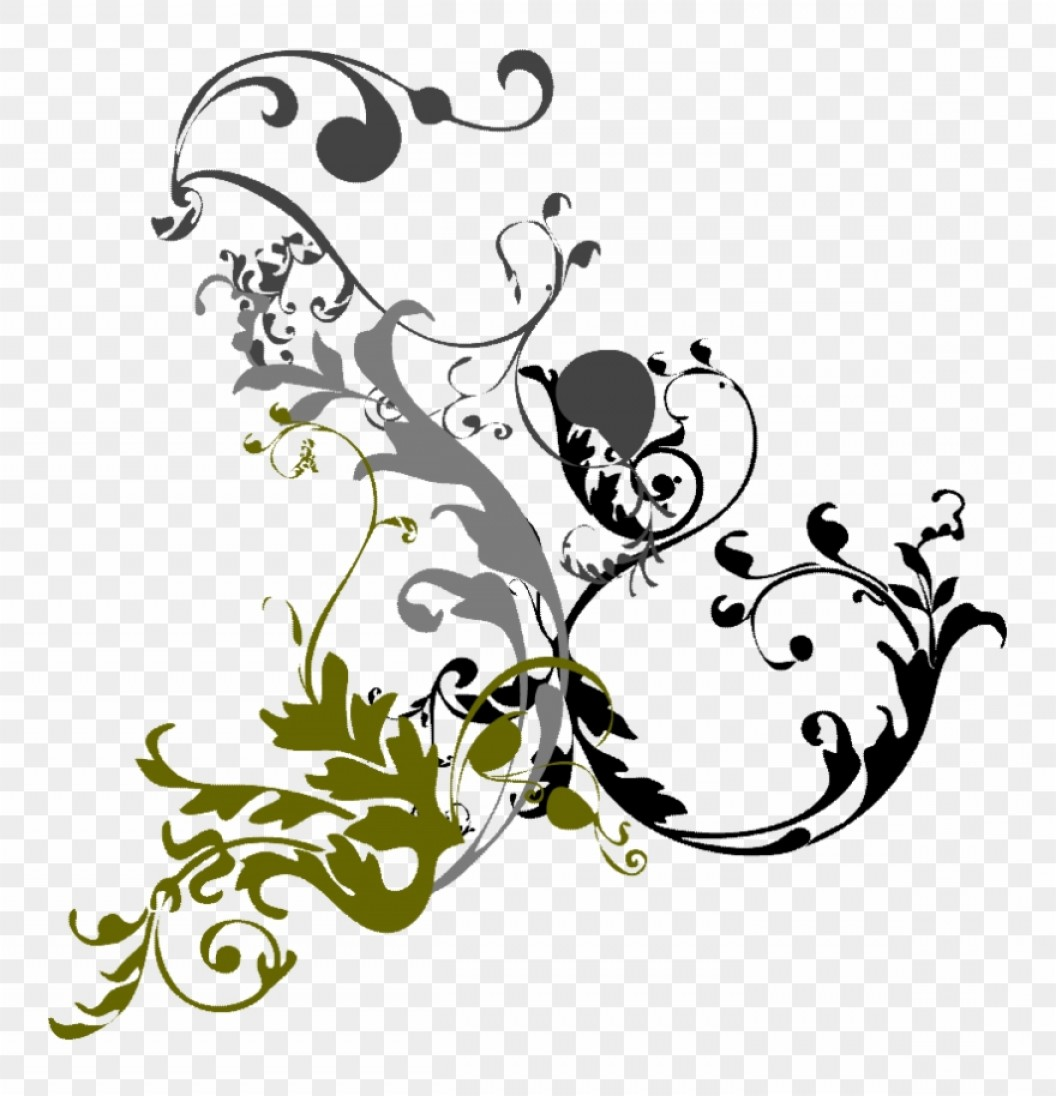 Bbthmjcurly Black Swirl Clipart Cliparthut Fancy Design Png.