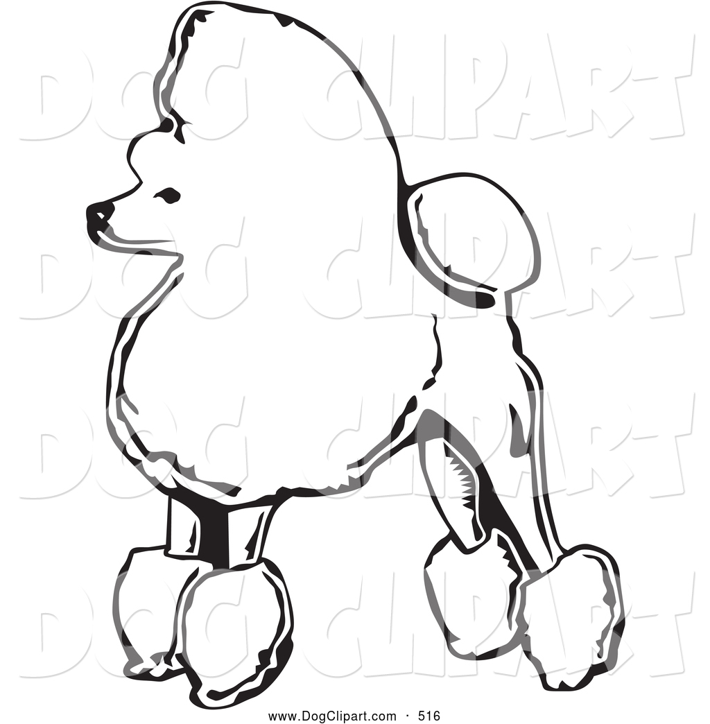 Fancy Dog Clipart.