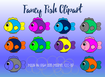 Fancy Fish Clipart.