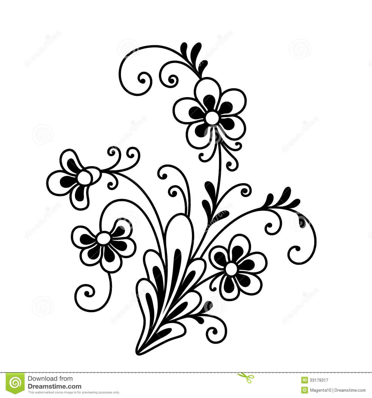 Fancy Flower Royalty Free Stock Photography.