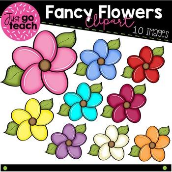 Fancy Flower Clipart.