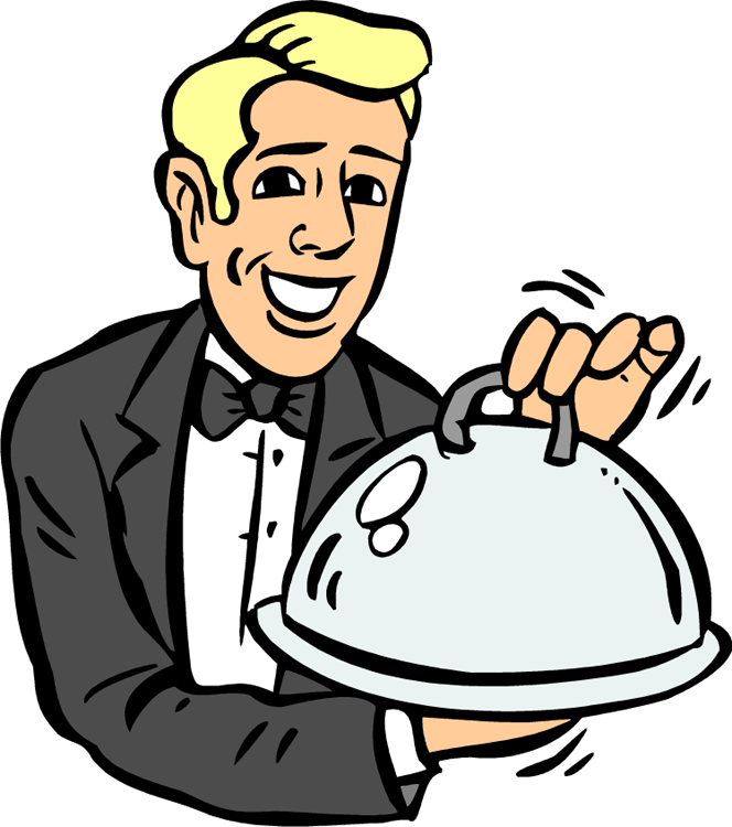 Hd image of fancy food clipart.