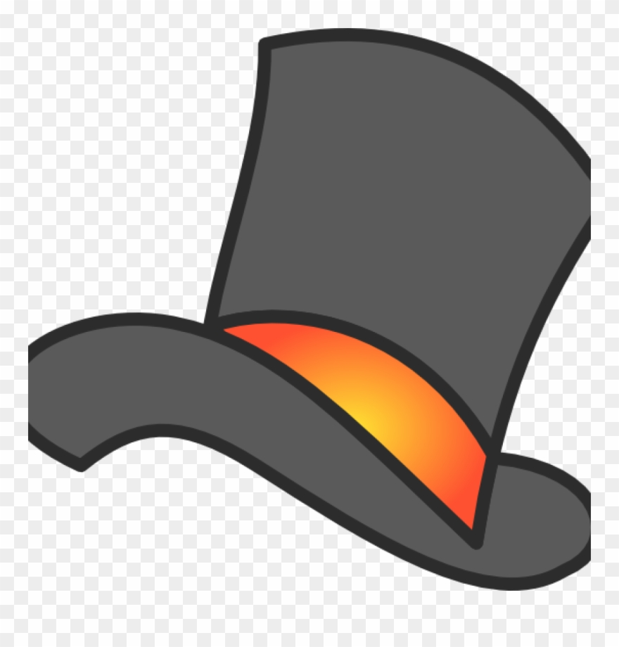 Top Hat Clipart Gray Clip Art At Clker Vector Online.