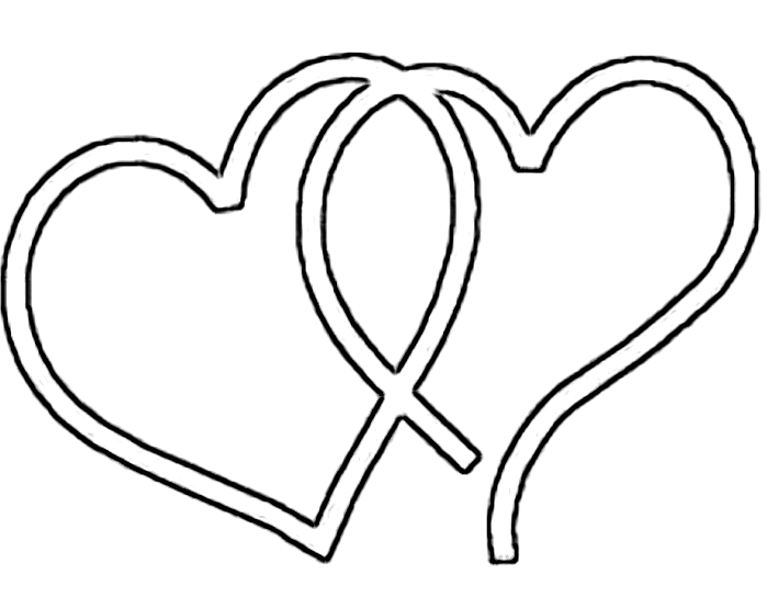 Fancy heart clipart free.
