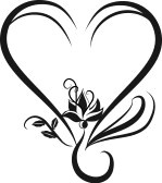 Wedding Heart Clip Art.
