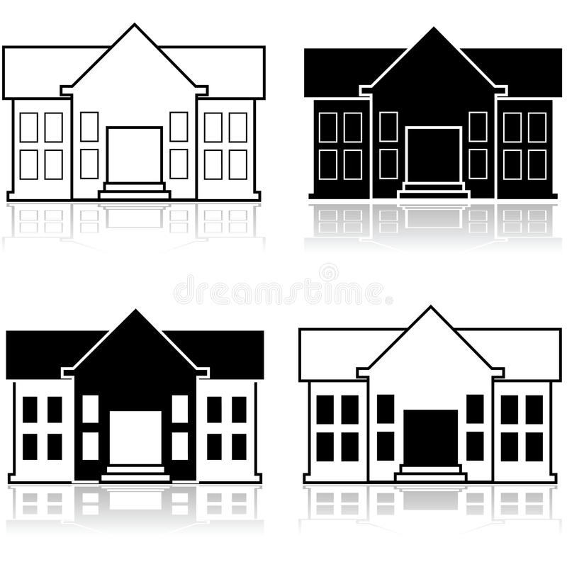 Fancy House Stock Illustrations.