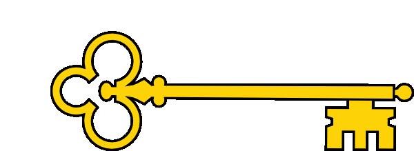 Fancy Key Clipart.