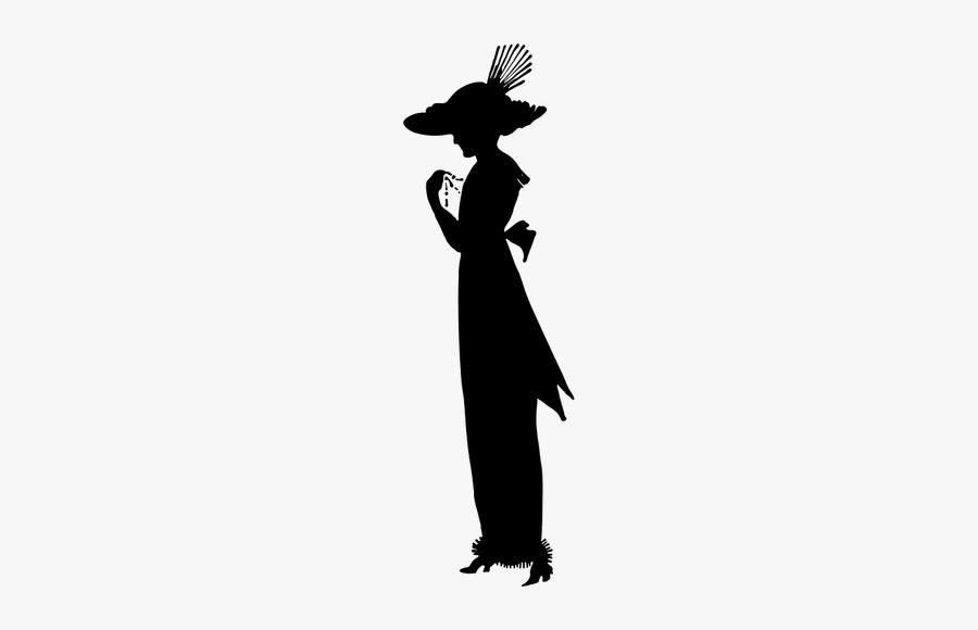 Fancy Lady Silhouette.