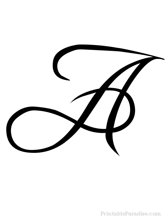 Fancy Letter A Png, Transparent PNG, png collections at dlf.pt.