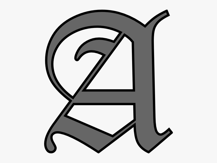 Alphabet Letter A Clip Art At Clker.