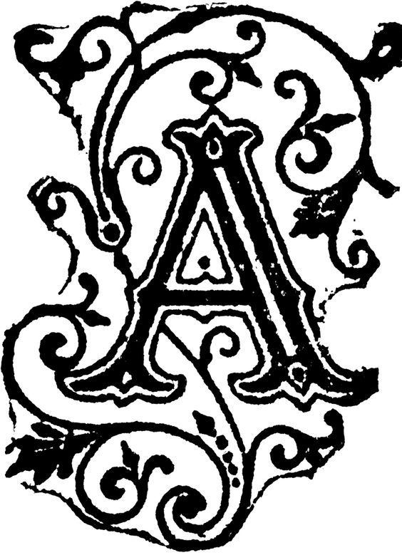 Fancy Letter A Designs.