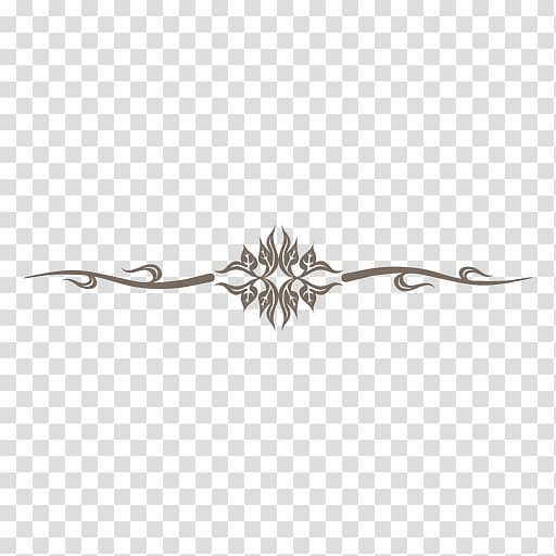 Line Curve Decorative arts, fancy line transparent background PNG.