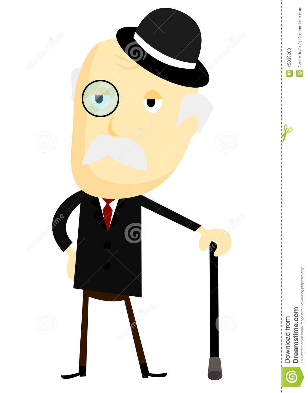 Fancy Man Clipart.