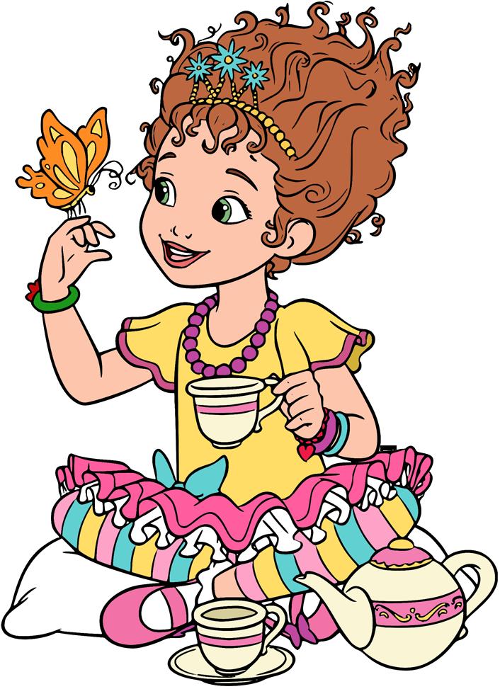 Fancy Nancy Clip Art.