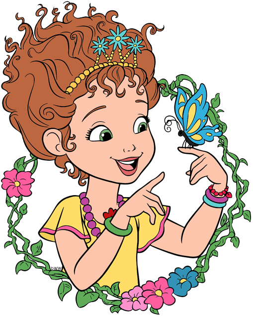 Fancy Nancy Clip Art.