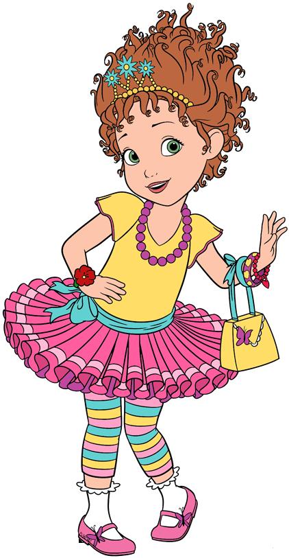Clip art of Disney\'s Fancy Nancy #fancynancy in 2019.