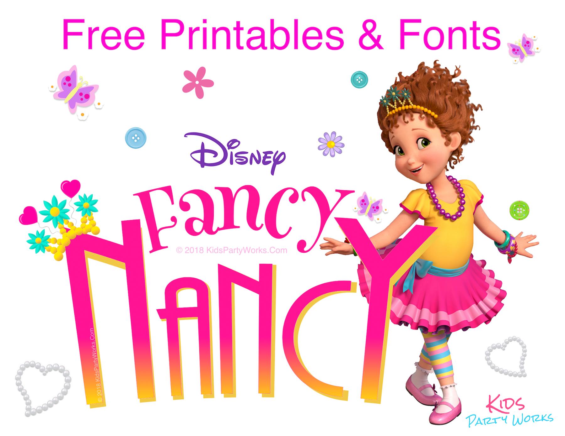 Ooh La La ! Fancy Nancy Party! Look How #180886.