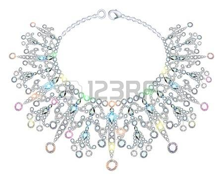 146 Necklace Fancy Stock Vector Illustration And Royalty Free.