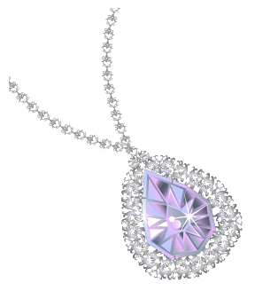 Fancy Diamond Image Clipart.