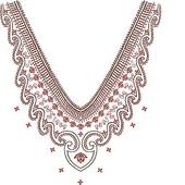 Clipart of Necklace Design Fashion k6370134.