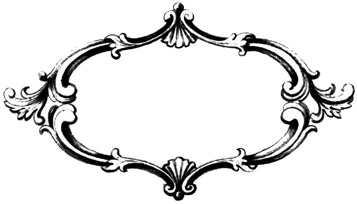 Fancy Clipart Frame.