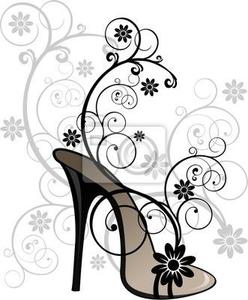 Fancy Shoes Clipart.