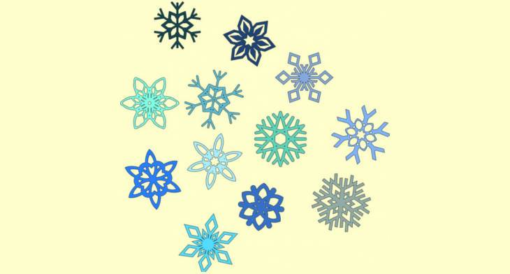 12+ Snowflake Cliparts.