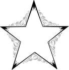 SIGNS SYMBOL / STARS / STARS BW.