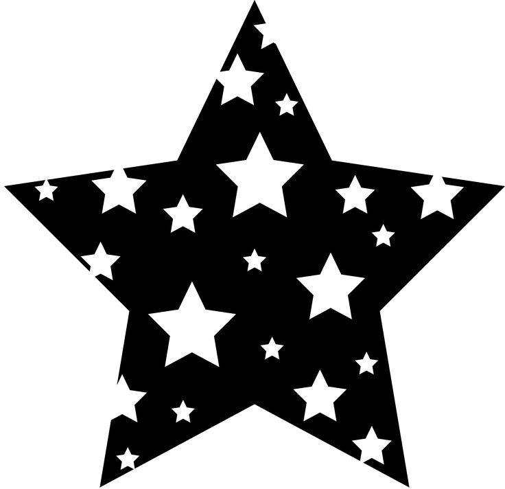 Fancy Star Outline Clipart Clipground