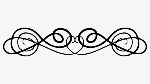 Swirl Or Flourish Clip Arts, HD Png Download , Transparent.