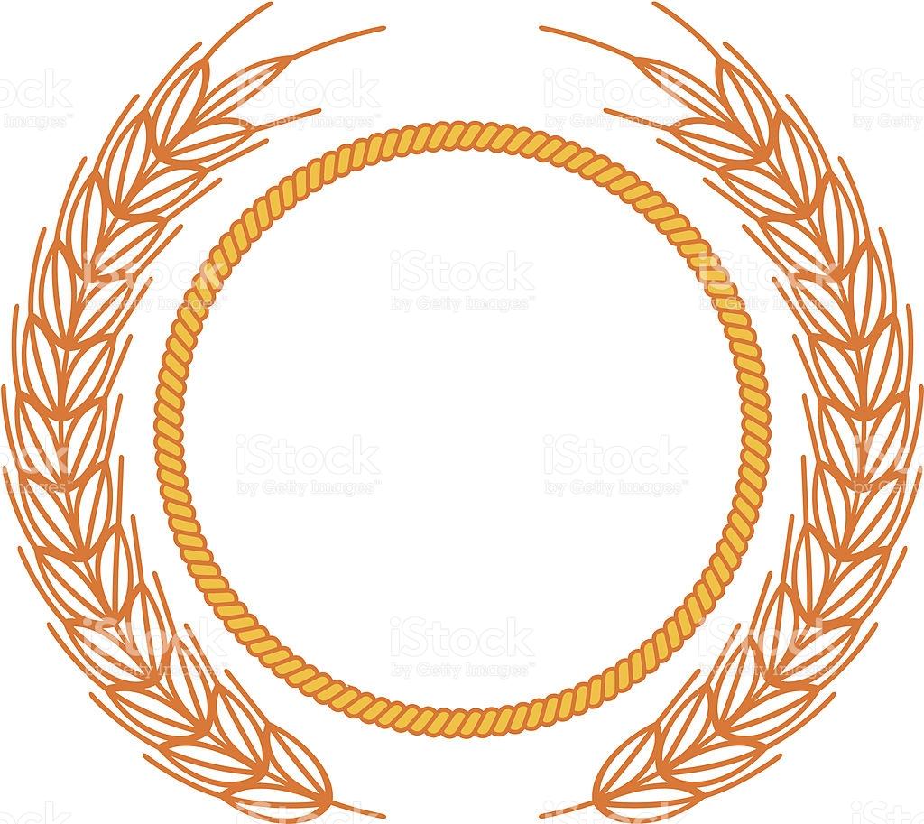 Similiar Wheat Wreath Clip Art Keywords.