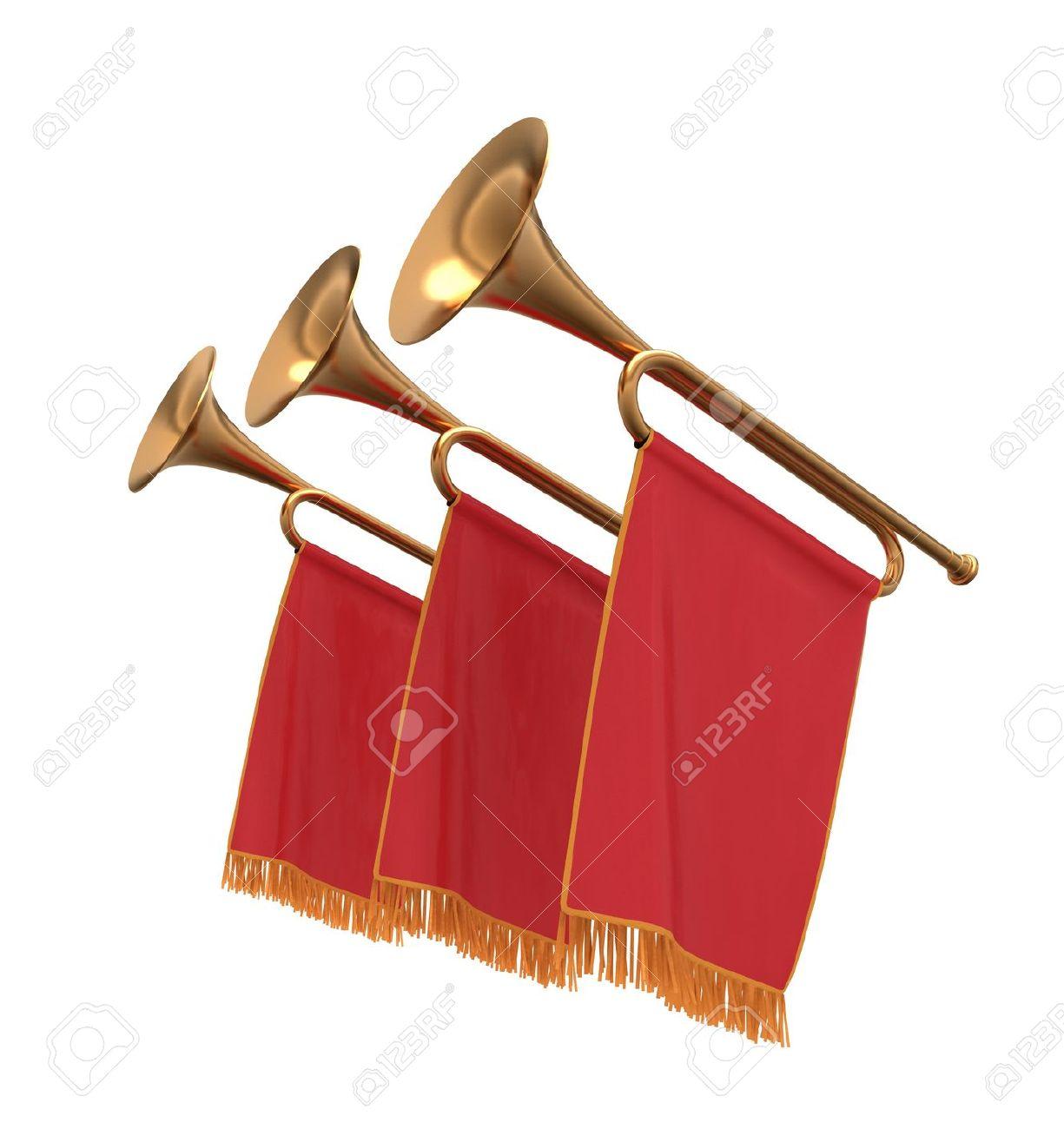 Clipart trumpet fanfare.