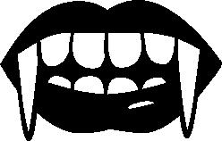 Vampire Teeth Clipart.