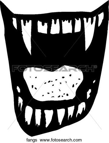 Fangs Clip Art Vector Graphics. 4,253 fangs EPS clipart vector and.