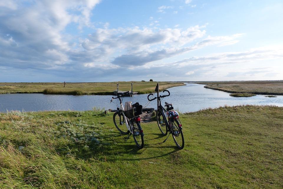 Free photo: Fannemanns Ferry, Bike, Laesoe.