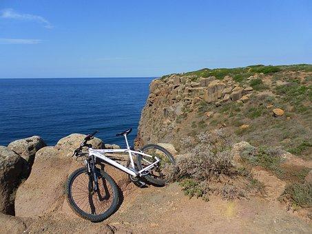 Sea, Bike.