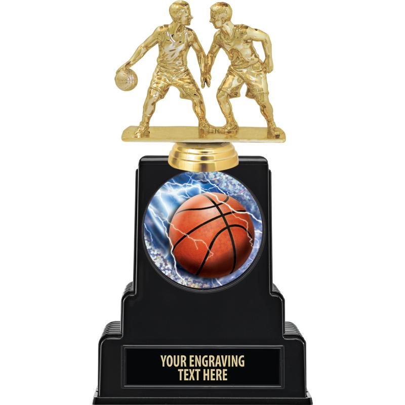 Basketball Trophies.