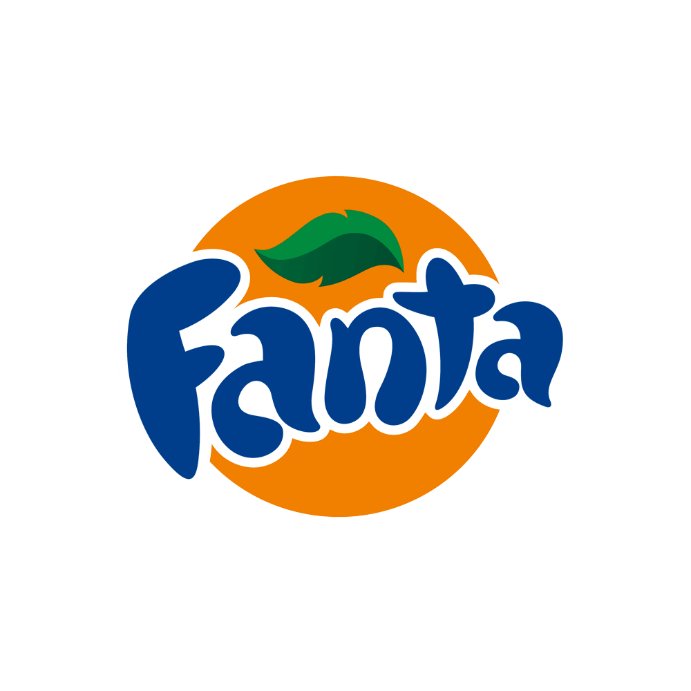 Fanta Orange Logo transparent PNG.