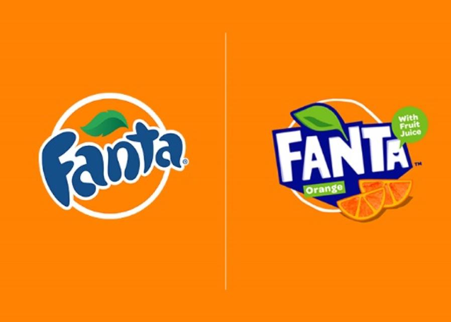 Fanta Logo Gets a Refreshing New Twist.