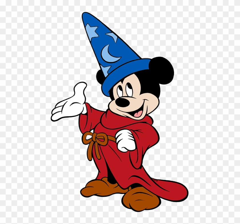 Sorcerer Mickey Png Clipart.