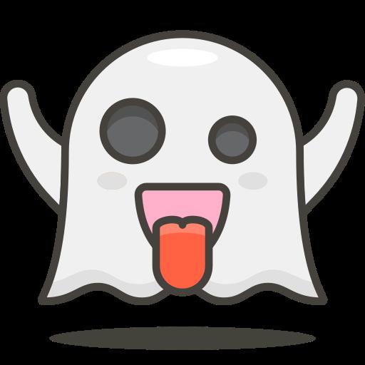 Icono Fantasma Gratis de 780 Free Vector Emoji.