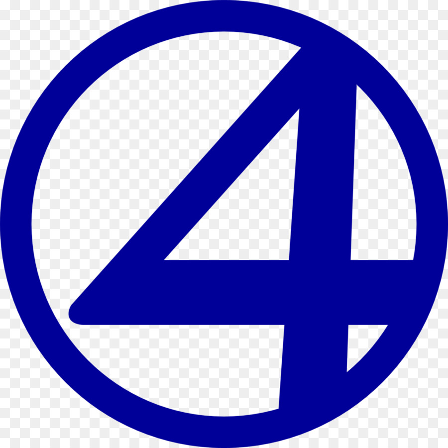 Logo Fantastic Four Marvel Comics Fan Ar #251219.