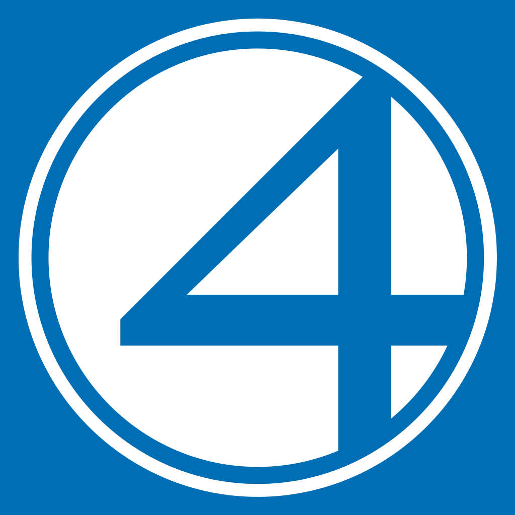 File:Fantastic Four logo (blue and white).svg.