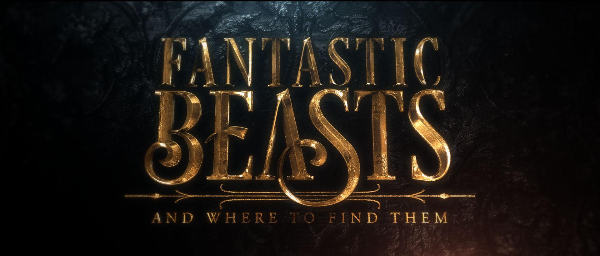 Alternative Logos for \'Fantastic Beasts\' Revealed.
