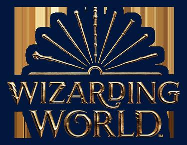 Wizarding World logo in 2019.