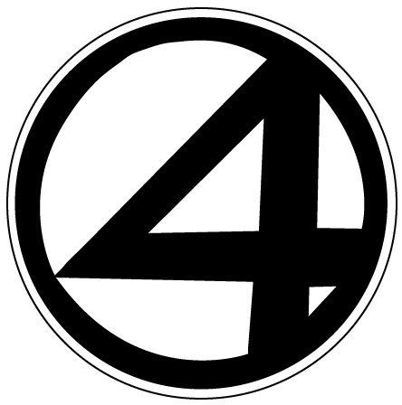 Fantastic 4 symbol.