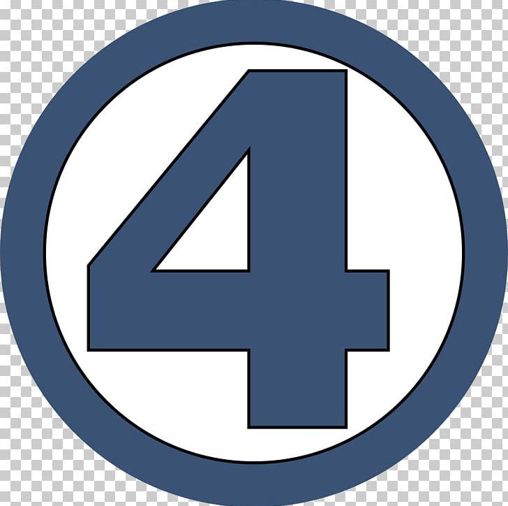 Mister Fantastic Fantastic Four Logo Superhero Marvel Comics PNG.