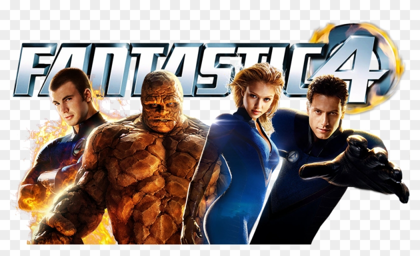 Fantastic Four Clearart Image.