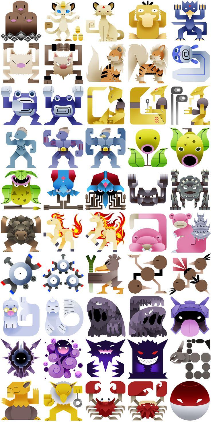 1000+ ideas about All 151 Pokemon on Pinterest.